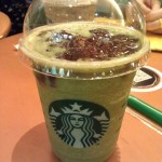 抹茶紅豆星冰樂 and  My Starbucks Rewards