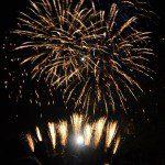 英國工作假期—Southwark Fireworks Display